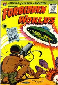 Cover Thumbnail for Forbidden Worlds (American Comics Group, 1951 series) #86