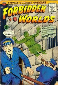 Cover for Forbidden Worlds (1951 series) #101