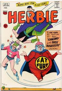 Cover Thumbnail for Herbie (American Comics Group, 1964 series) #14