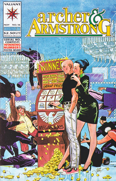 Cover for Archer & Armstrong (Acclaim / Valiant, 1992 series) #16