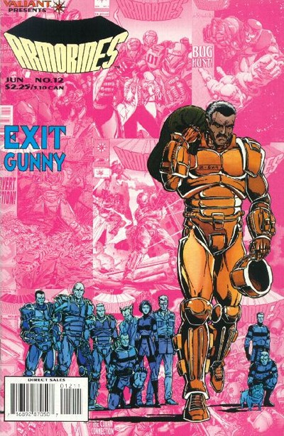 Cover for Armorines (1994 series) #12