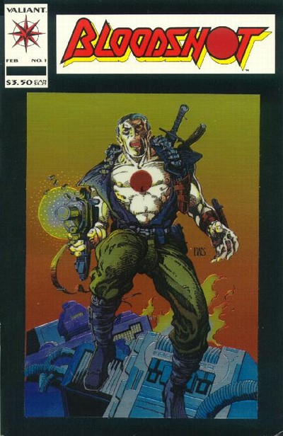 Cover for Bloodshot (Acclaim / Valiant, 1993 series) #1