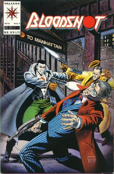 Cover for Bloodshot (Acclaim / Valiant, 1993 series) #3