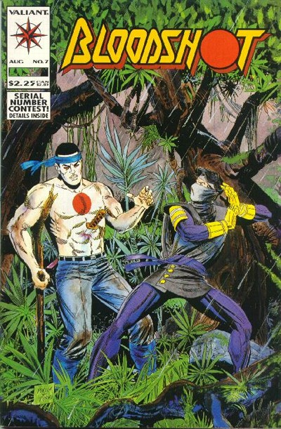 Cover for Bloodshot (Acclaim / Valiant, 1993 series) #7
