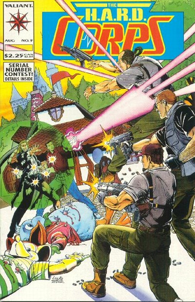 Cover for The H.A.R.D. Corps (Acclaim / Valiant, 1992 series) #9