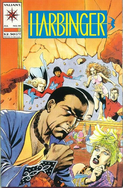 Cover for Harbinger (1992 series) #19