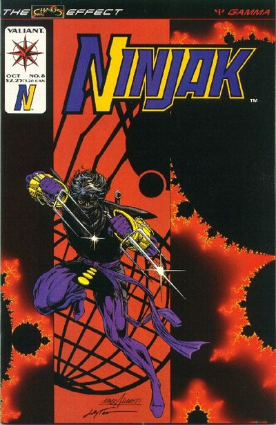 Cover for Ninjak (Acclaim / Valiant, 1994 series) #8