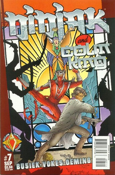 Cover for Ninjak (Acclaim / Valiant, 1997 series) #7
