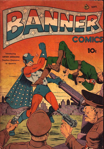 Cover for Banner Comics (1941 series) #3
