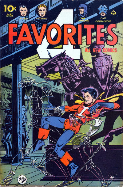 Cover for Four Favorites (Ace Magazines, 1941 series) #23