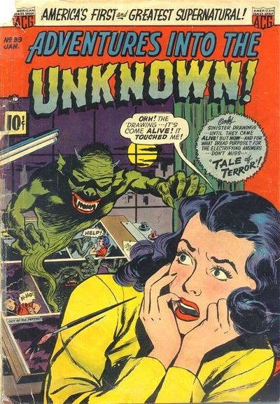 Cover for Adventures into the Unknown (1948 series) #39
