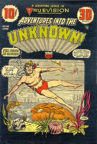 Cover for Adventures into the Unknown (American Comics Group, 1948 series) #56