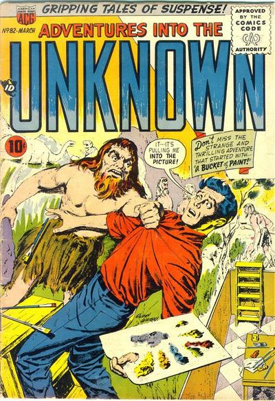 Cover for Adventures into the Unknown (American Comics Group, 1948 series) #82
