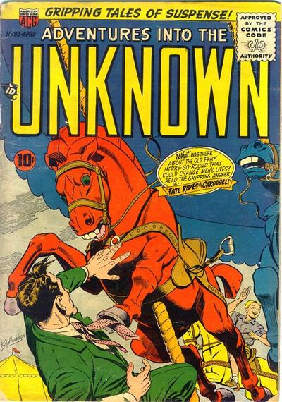 Cover for Adventures into the Unknown (1948 series) #83