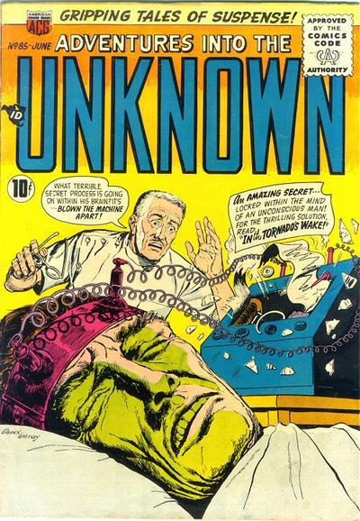 Cover for Adventures into the Unknown (1948 series) #85