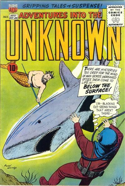 Cover for Adventures into the Unknown (1948 series) #121