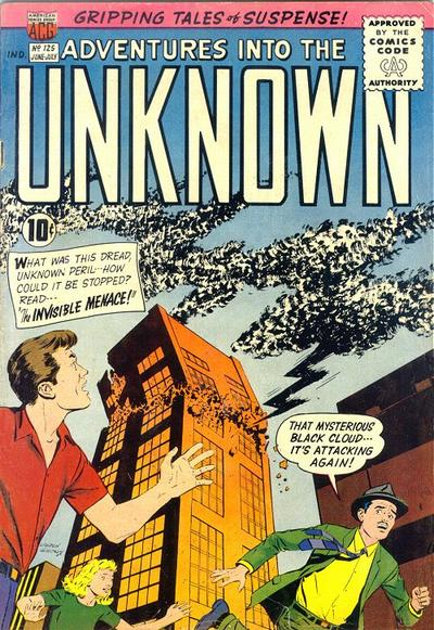 Cover for Adventures into the Unknown (1948 series) #125