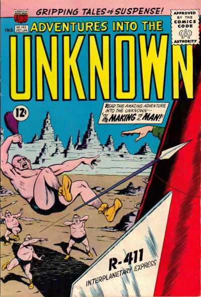 Cover for Adventures into the Unknown (American Comics Group, 1948 series) #145