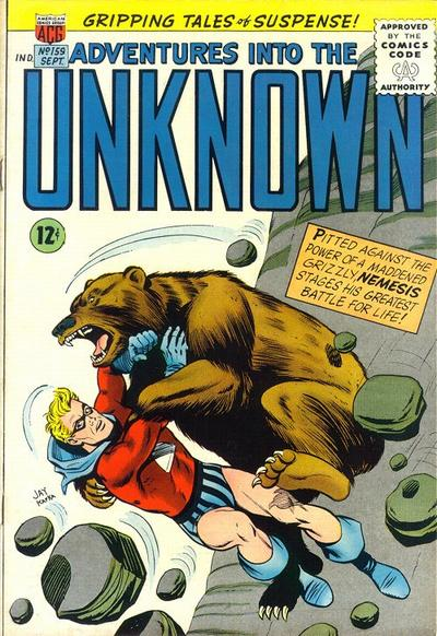 Cover for Adventures into the Unknown (1948 series) #159