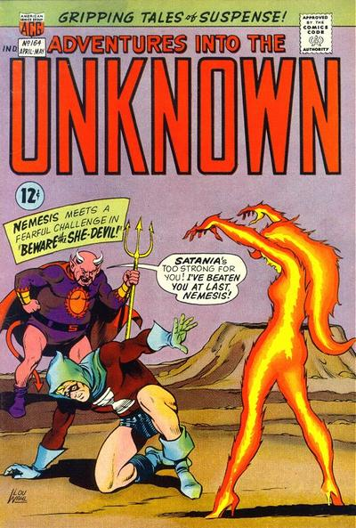Cover for Adventures into the Unknown (1948 series) #164