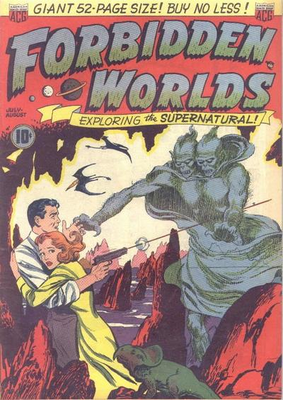 Cover for Forbidden Worlds (1951 series) #1