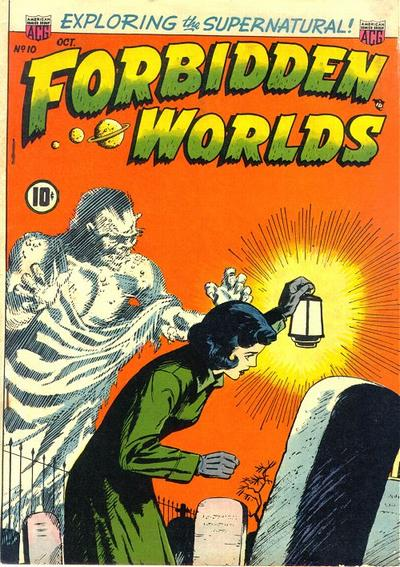 Cover for Forbidden Worlds (American Comics Group, 1951 series) #10