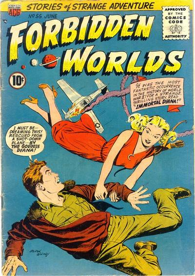 Cover for Forbidden Worlds (American Comics Group, 1951 series) #55