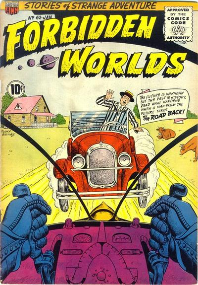 Cover for Forbidden Worlds (1951 series) #62