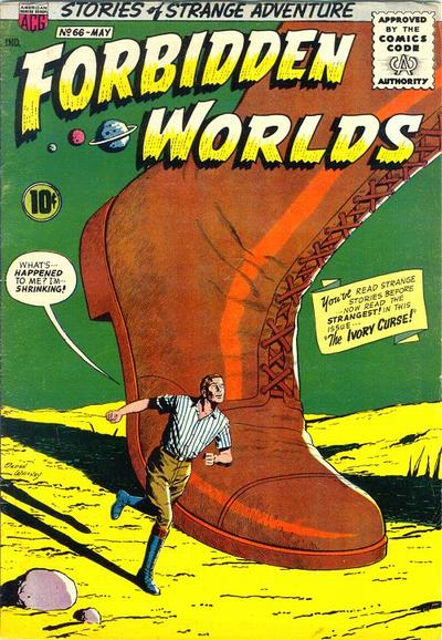 Cover for Forbidden Worlds (1951 series) #66