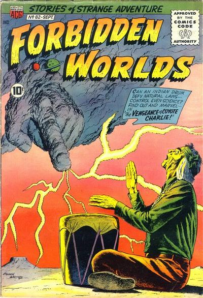 Cover for Forbidden Worlds (American Comics Group, 1951 series) #82