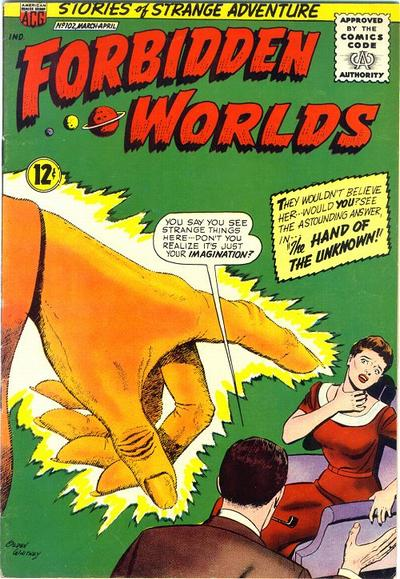 Cover for Forbidden Worlds (American Comics Group, 1951 series) #102