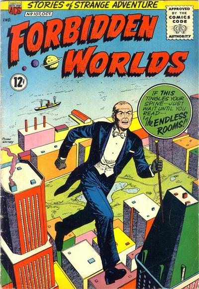 Cover for Forbidden Worlds (American Comics Group, 1951 series) #107