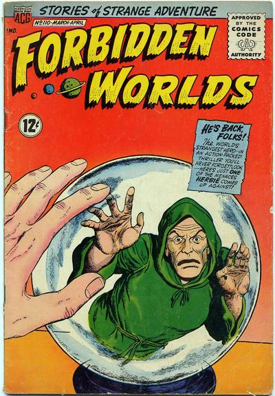 Cover for Forbidden Worlds (American Comics Group, 1951 series) #110