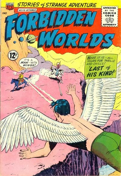 Cover for Forbidden Worlds (American Comics Group, 1951 series) #115