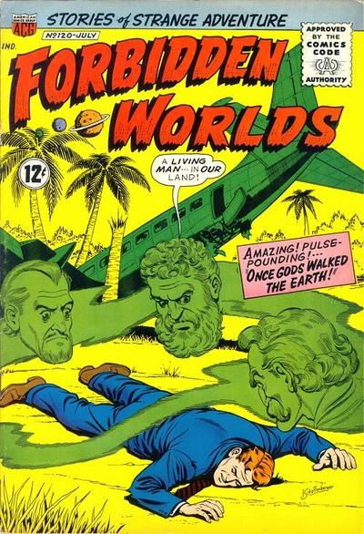 Cover for Forbidden Worlds (American Comics Group, 1951 series) #120