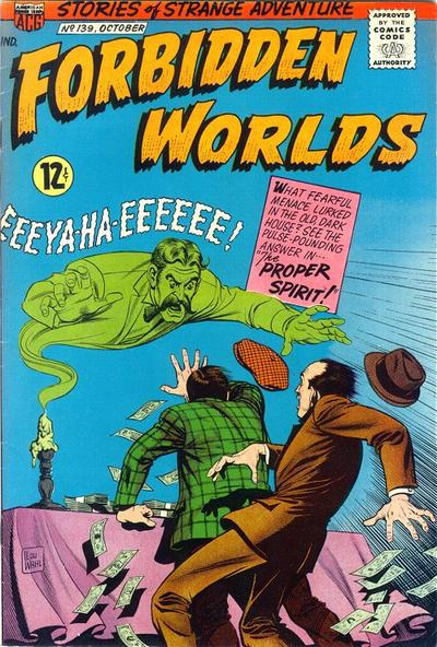 Cover for Forbidden Worlds (American Comics Group, 1951 series) #139