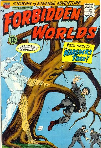 Cover for Forbidden Worlds (1951 series) #142