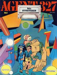 Cover Thumbnail for Agent 327 (Hjemmet, 1985 series) #3 [Reutsendelse bc 147 25]