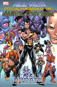 Cover Thumbnail for All-New Official Handbook of the Marvel Universe: Update (Marvel, 2007 series) #3
