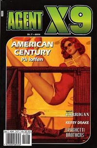 Cover for Agent X9 (Egmont Serieforlaget, 1998 series) #7/2004