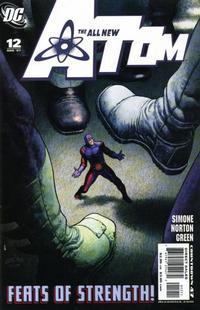 Cover Thumbnail for The All New Atom (DC, 2006 series) #12