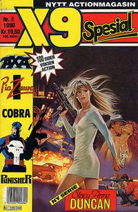 Cover Thumbnail for X9 Spesial (Semic, 1990 series) #2/1990