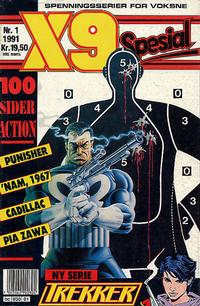 Cover Thumbnail for X9 Spesial (Semic, 1990 series) #1/1991
