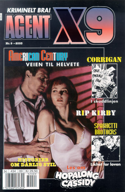 Cover for Agent X9 (1998 series) #9/2003