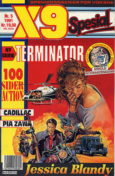 Cover for X9 Spesial (Semic, 1990 series) #5/1991
