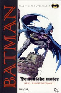 Cover Thumbnail for Batman: Demoniske møter [Alle Tiders Superhelter] (Egmont Serieforlaget, 2006 series)
