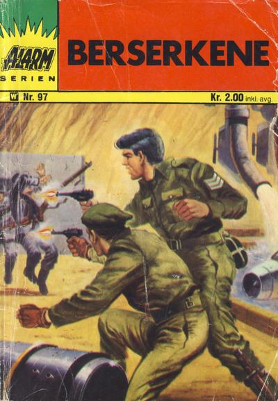Cover for Alarm (1967 series) #97