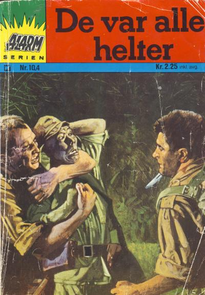 Cover for Alarm (Illustrerte Klassikere / Williams Forlag, 1967 series) #104