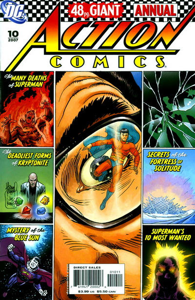 Cover for Action Comics Annual (DC, 1987 series) #10 [Variant Cover]