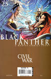Cover for Black Panther (Marvel, 2005 series) #25